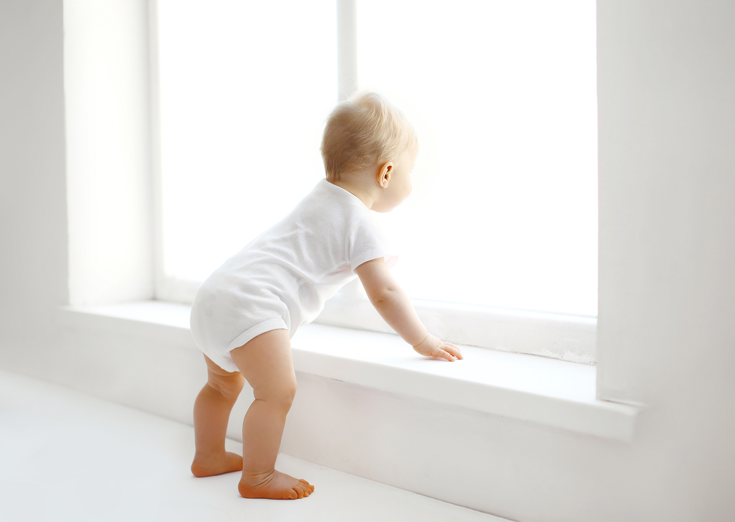 How to baby proof windows using window guards and window stops.