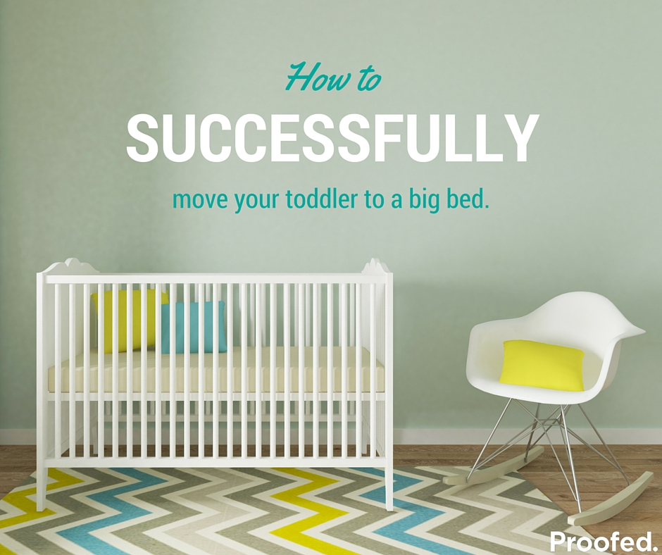 How to move a toddler from the crib to a big bed