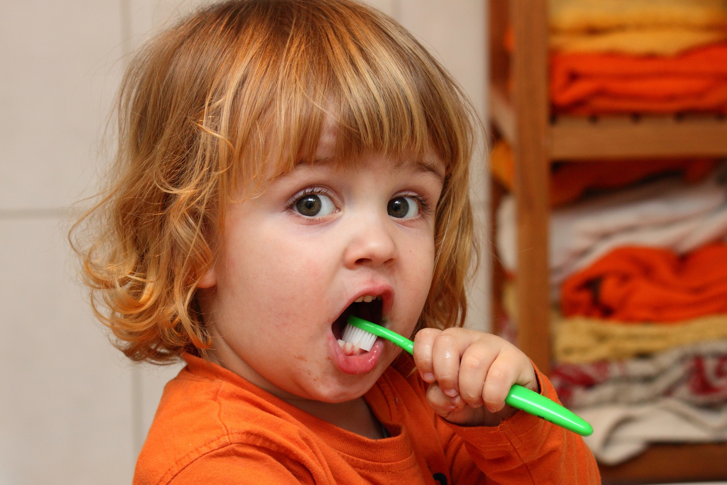 Practicing good dental health starts early.