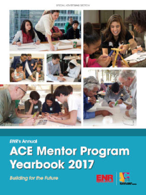 Read the 2017 ACE Mentor Program Yearbook and hear from two ACE RI Alumni who are featured. Read more about Robert Clarke (pg. 6) and Jose Paz (pg. 29) in the ACE Alumni Spotlight.