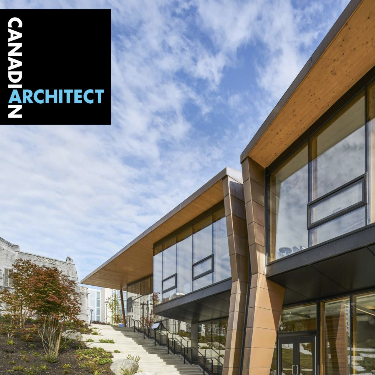HANDSOME HYBRID - D'Arcy's building review of KPMB and Public: Architecture + Communications's new Wilson School of Design at Kwantlen College Richmond) is featured in the October 2018 issue of Canadian Architect.