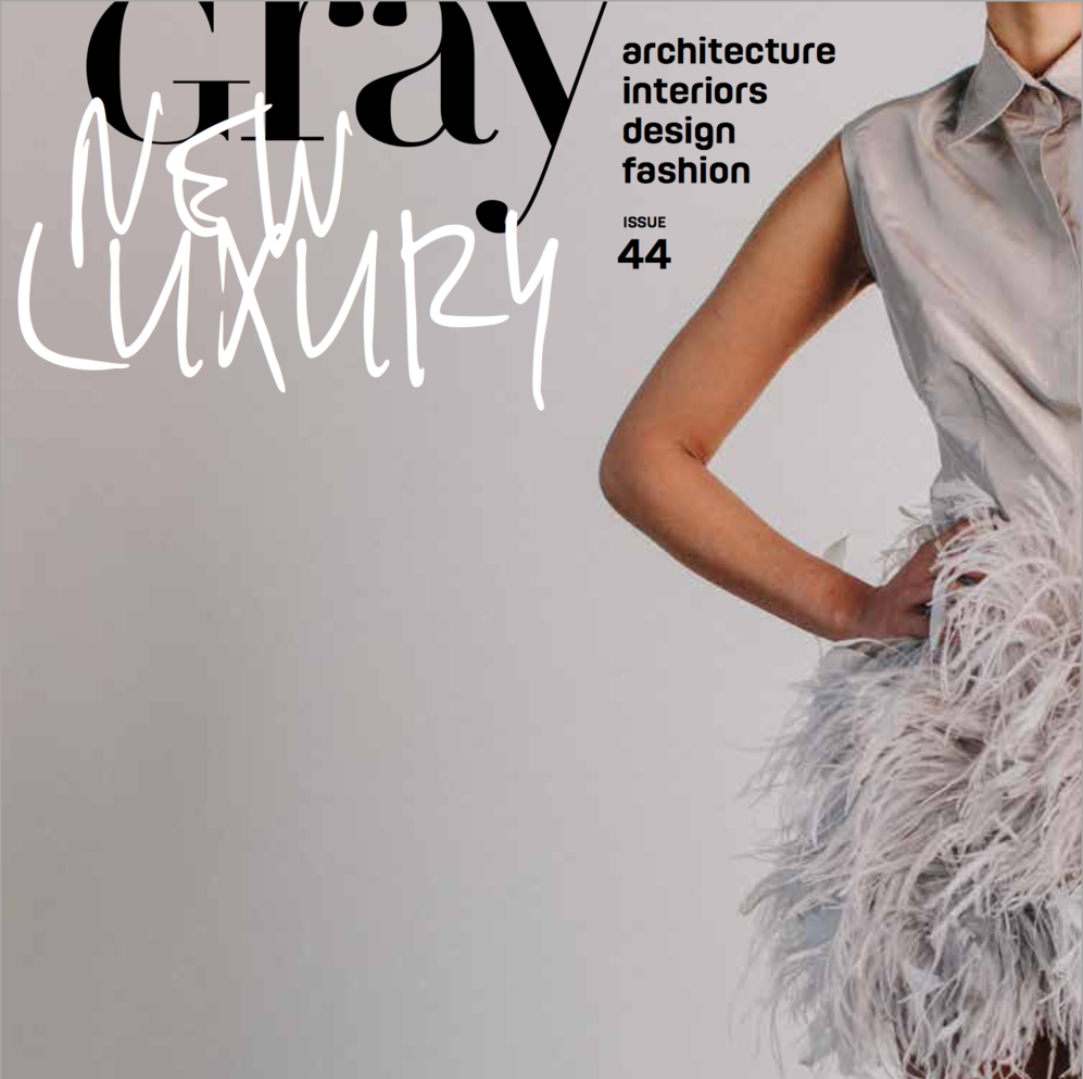 GRAY MAGAZINE - DJA STUDIO 3  - Double Identity: DJA Studio 3 was recently featured in Gray Magazine's Issue #44.