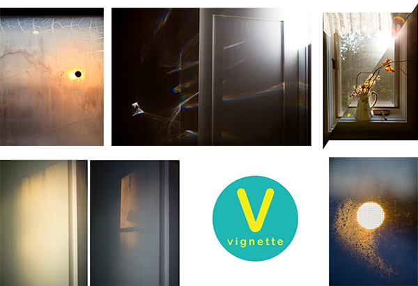 "Five images from ""Penumbral Being"" were selected for Vignette"