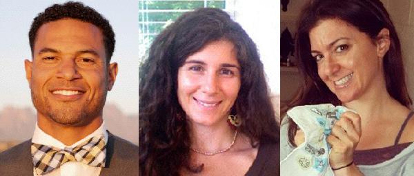 Siddeeq Shabazz, Amanda Formica, and Danielle Lapiano