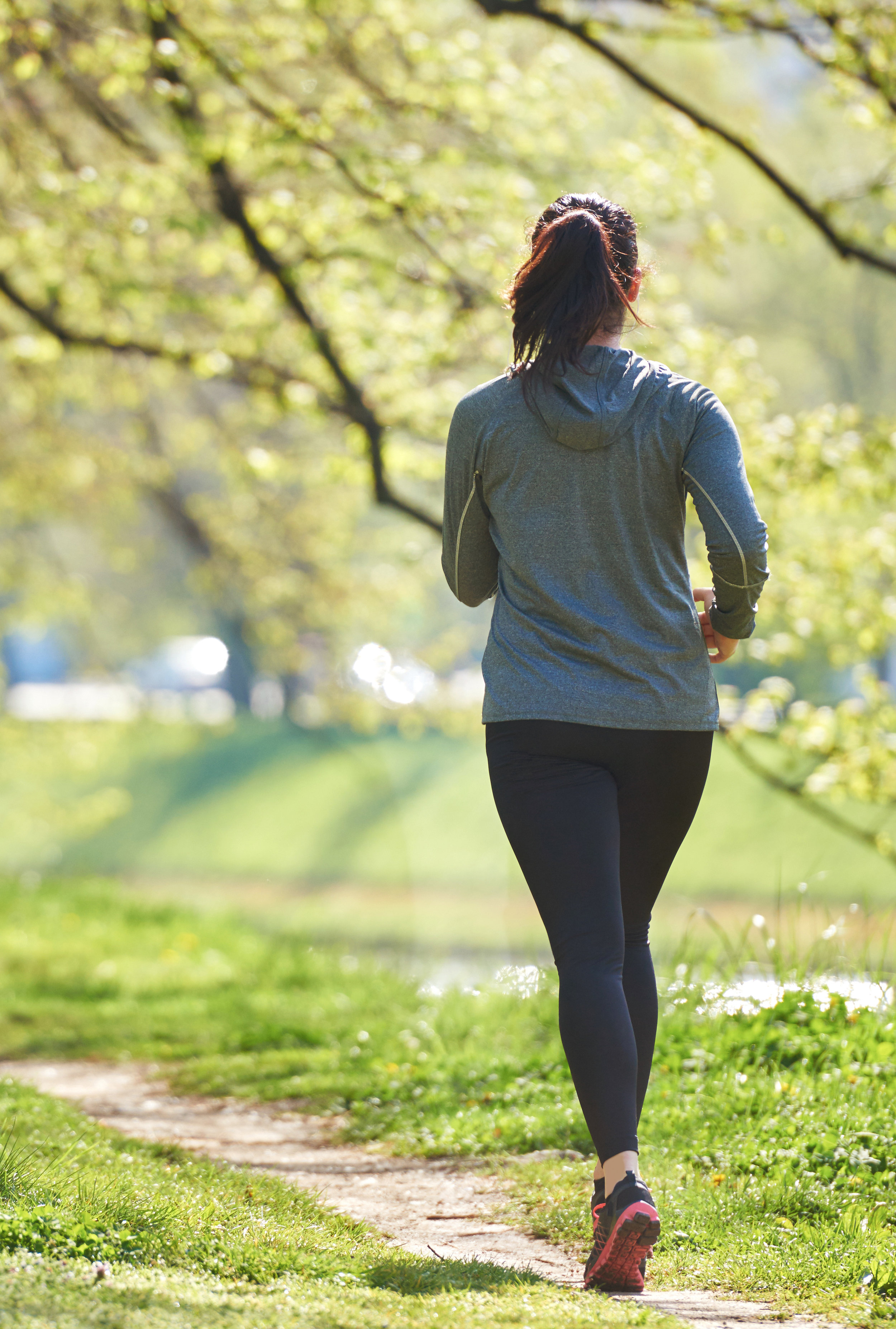 Moderate exercise can reduce your risk of cardiovascular disease.