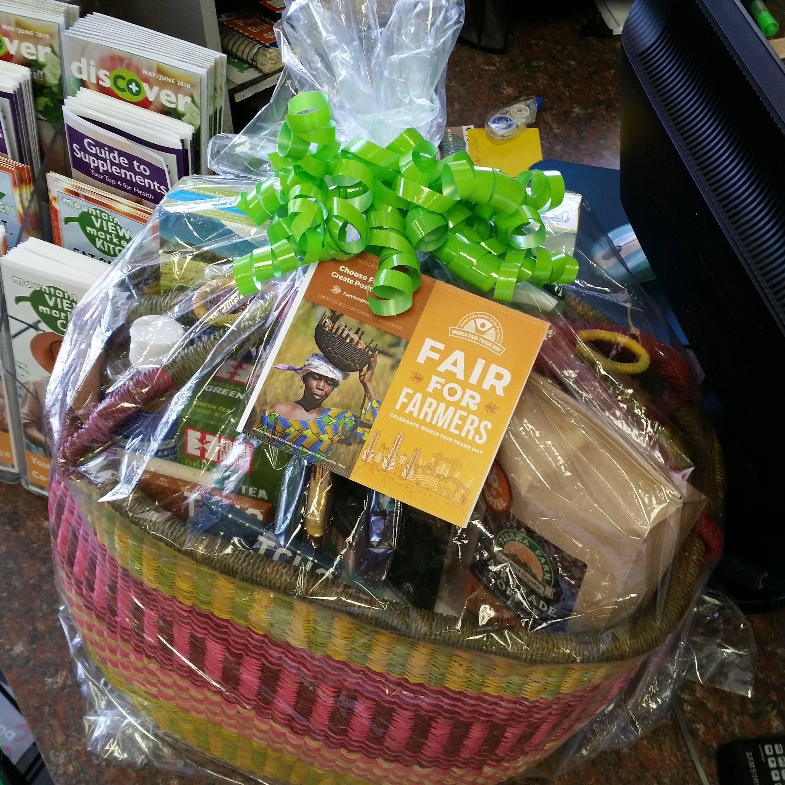 Enter at the Co+op to win this gift basket