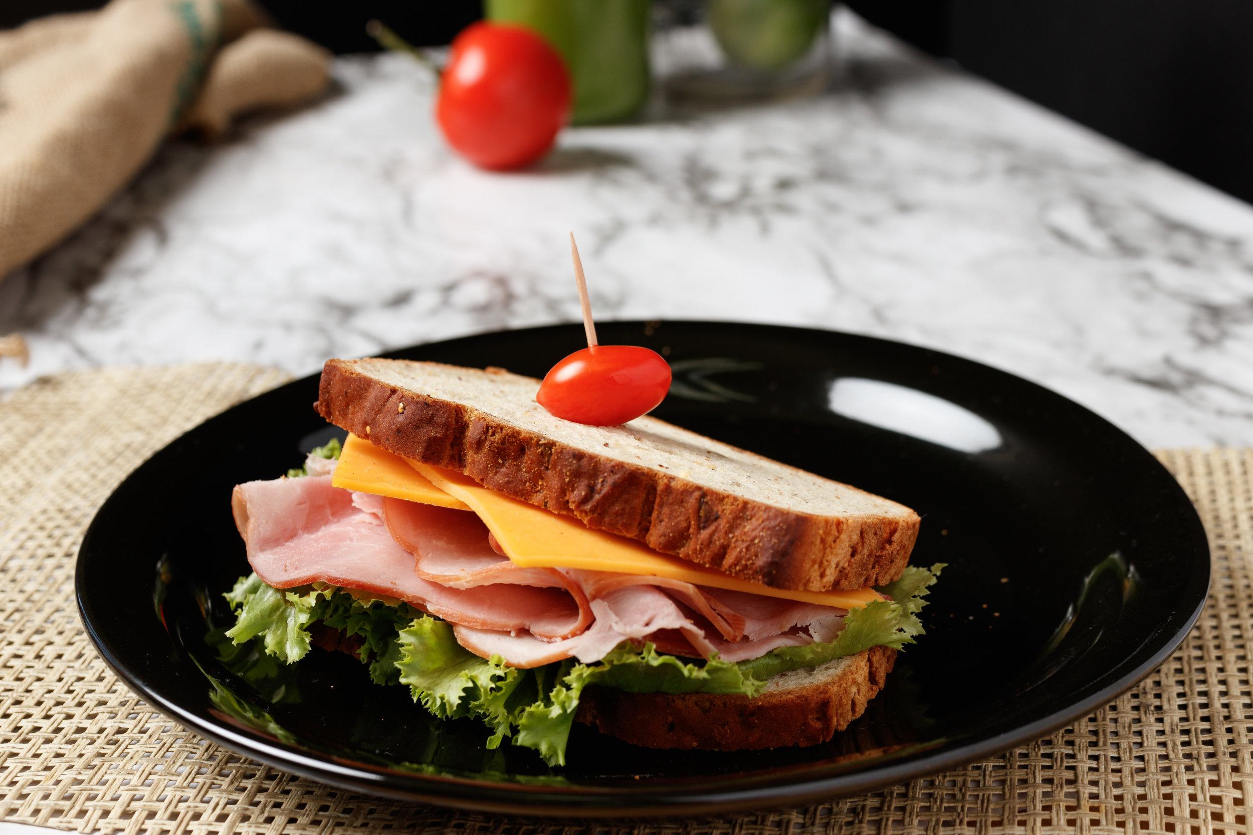 Gluten-free ham & cheese