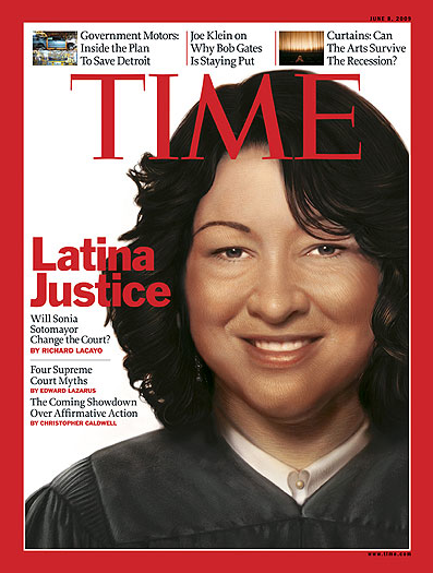 Time Magazine - Sonia Sotomayor