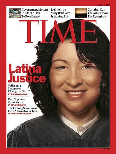Time Magazine - Sonia Sotomayor