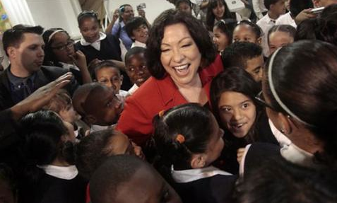 Sonia Sotomayor in the Bronx - Associated Press