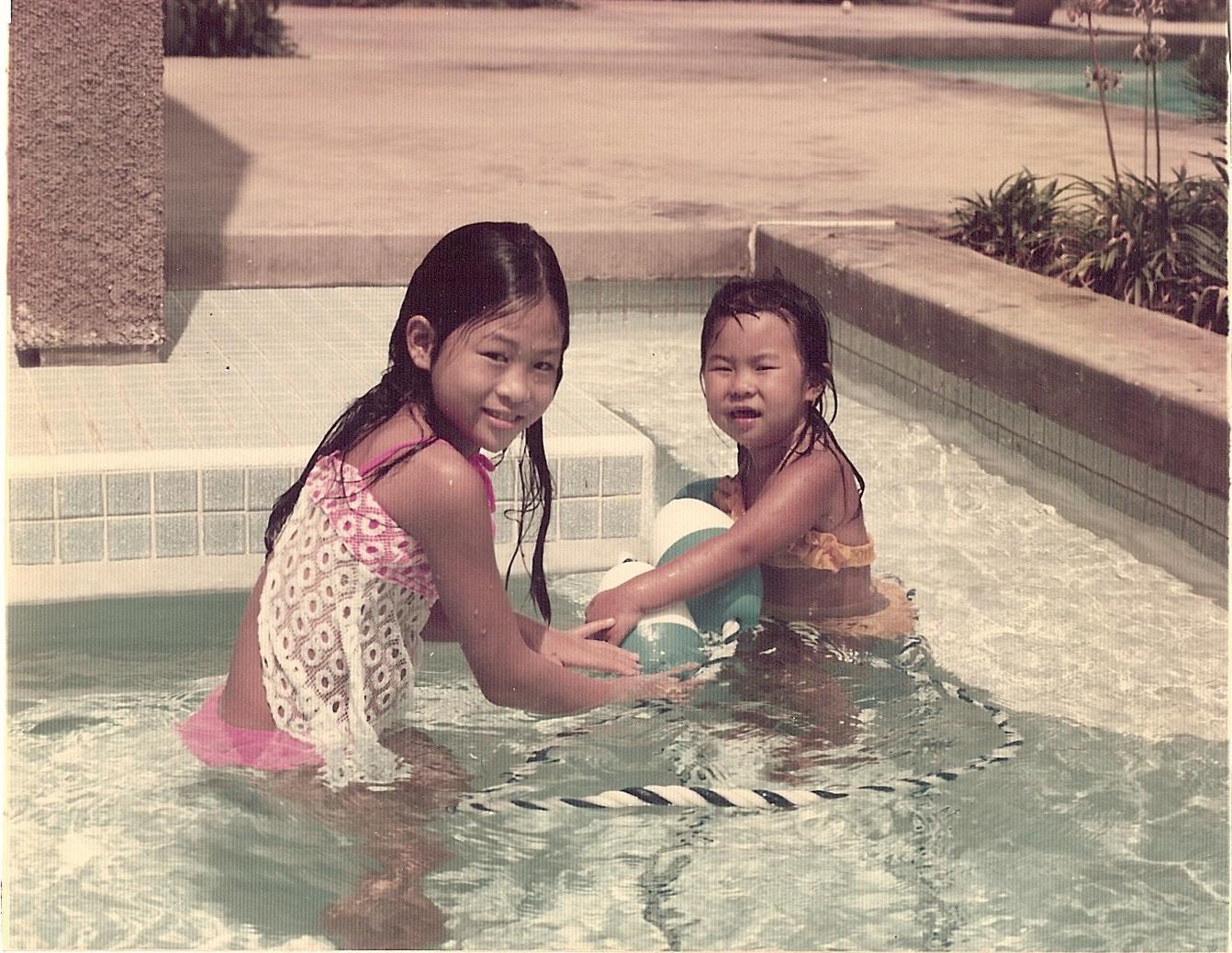 Swimming with Linda