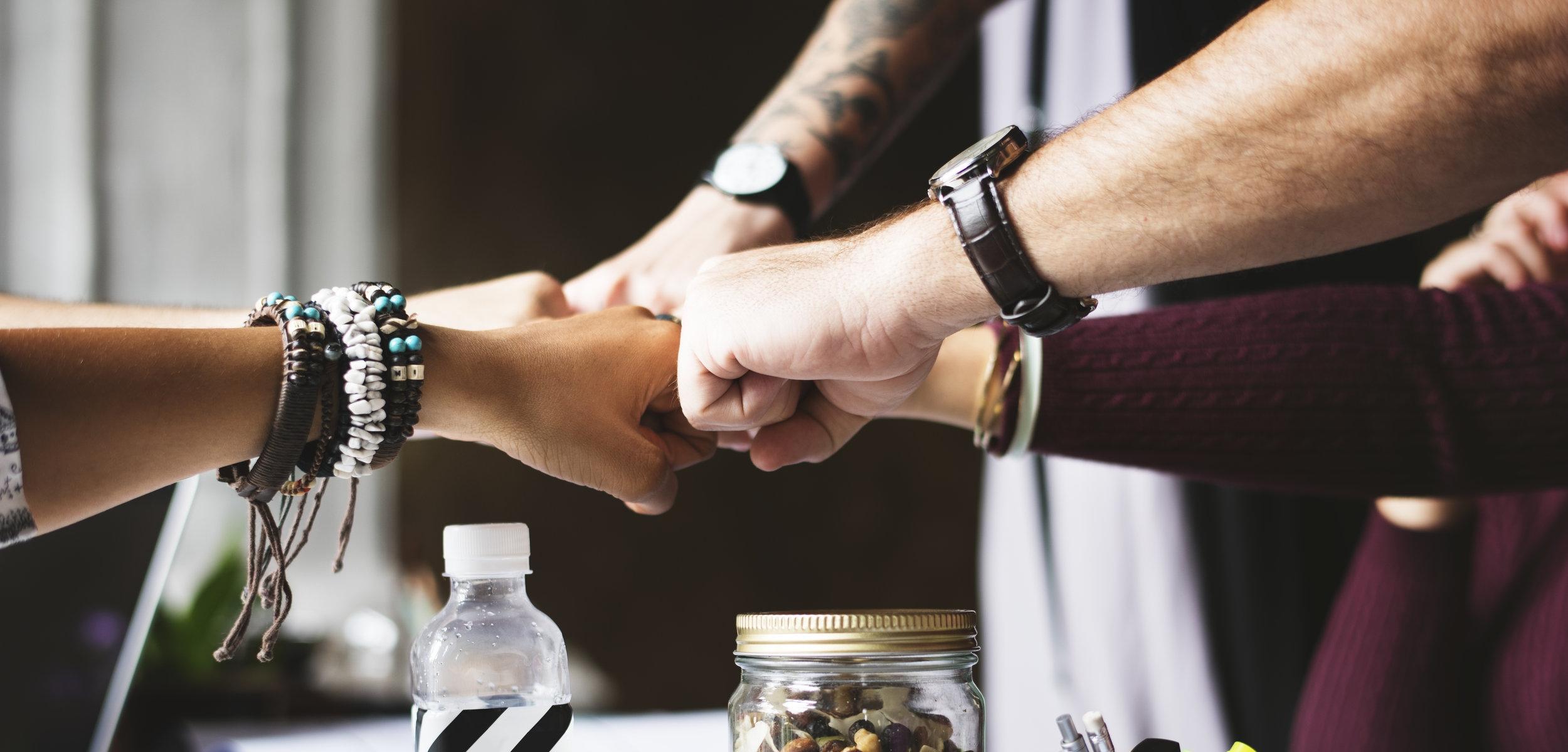 We build powerful teams. -