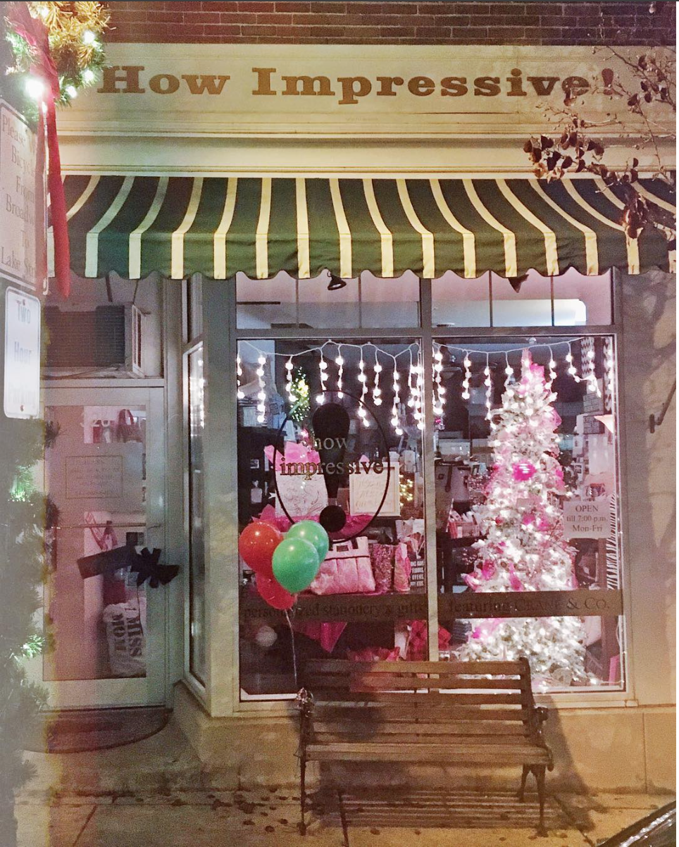 About us - How Impressive! has been the leading provider of stationery and personalized paper products in Libertyville for almost 15 years and in downtown libertyville going into our 12th holiday season!We are a family-owned and operated small business that is committed to quality products and excellent customer service.How Impressive! offers a fine selection of paper products in a variety of colors, weights, and finishes that offer customers outstanding performance for all of their communication needs. Personalized and custom design services are available upon request.We also have great in-store gifts for all of the people on your gift-giving list from Nora fleming, kate spade, lilly pulitzer, kameleon jewelry and soo much more!For more information about all of our products and services, we invite you to visit our store to talk with one of our knowledgeable associates. We look forward to meeting you soon! 847.680.6458