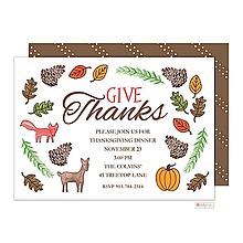 thanksgiving invitations -