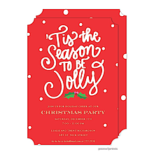 christmas invitations -