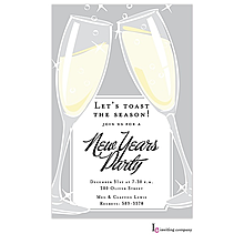 New years party invitations -