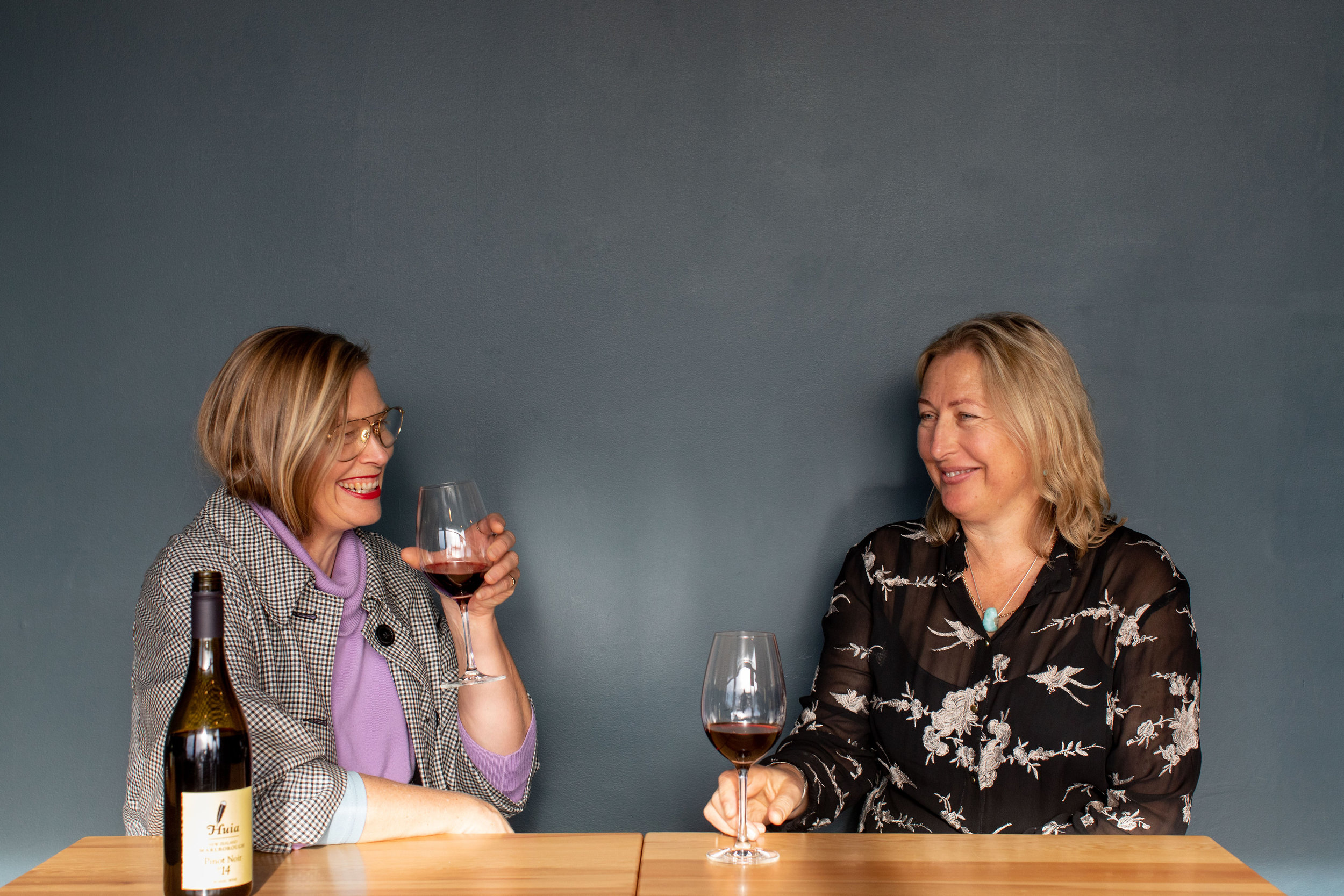 Designer Kate Sylvester   Winemaker Claire Allan