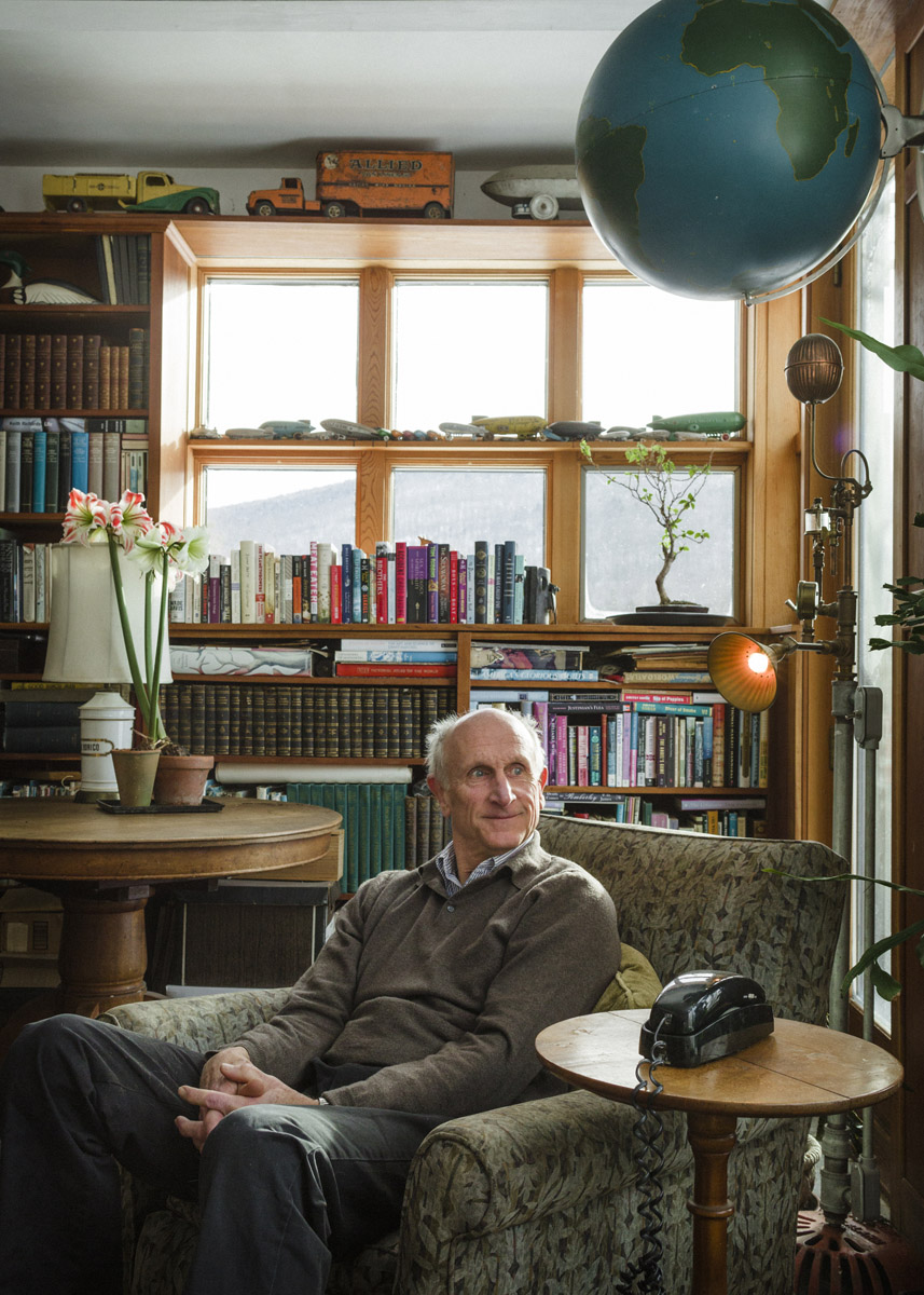 Jim Sanford in his study. Photograph by Corey Hendrickson