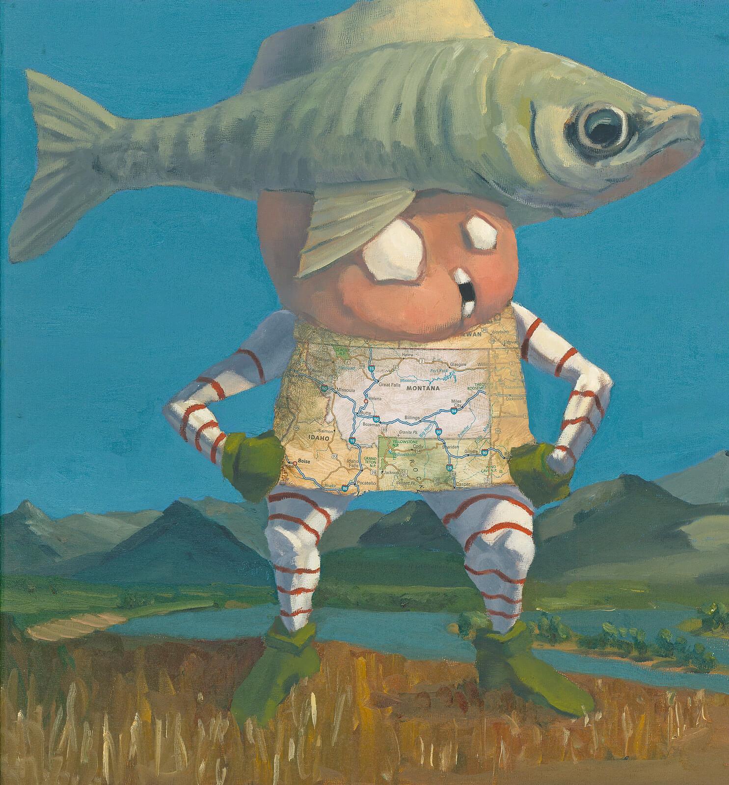 Mr. Montana (Fish Hat)