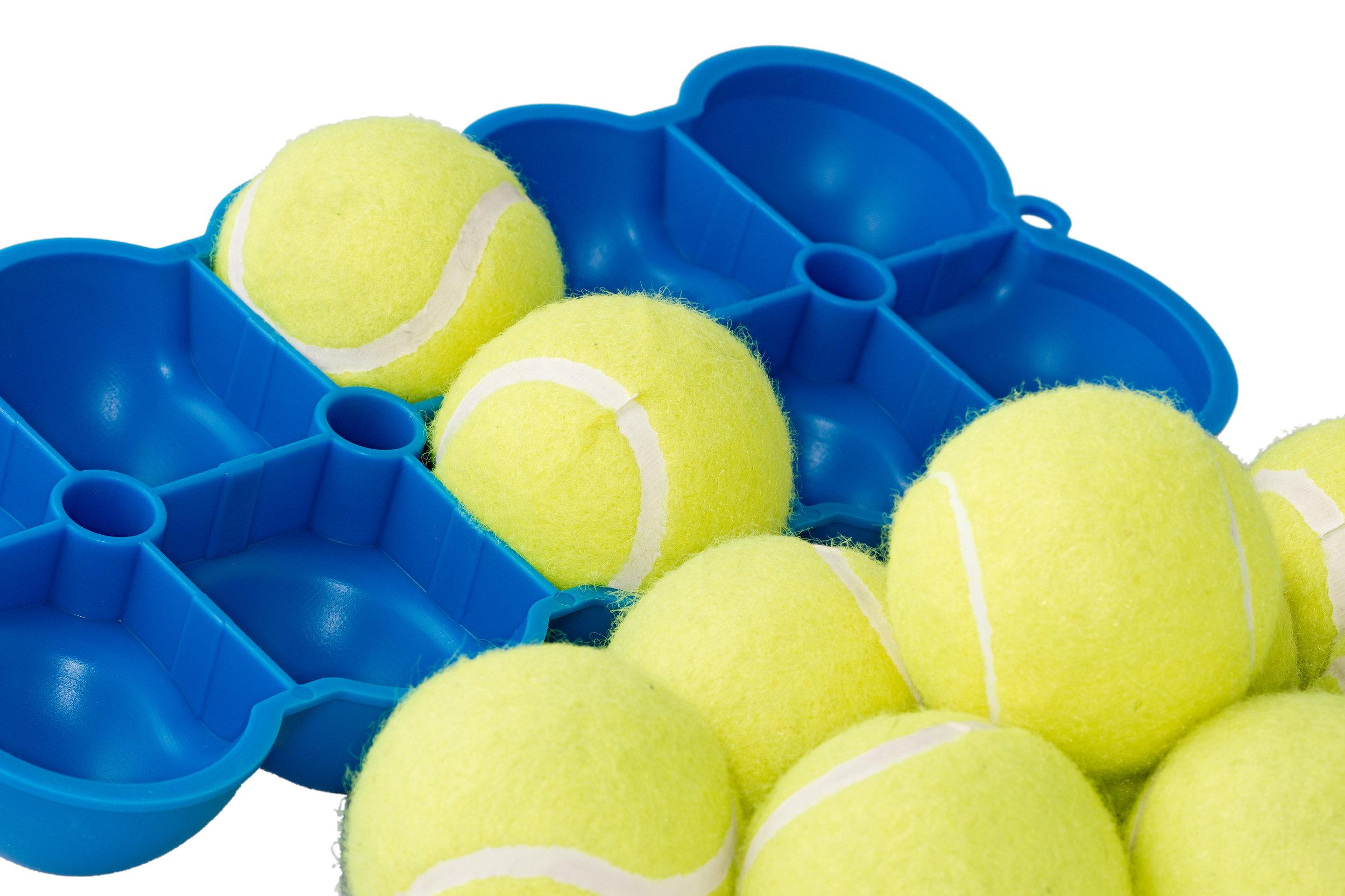 The Back King - Using Tennis Balls