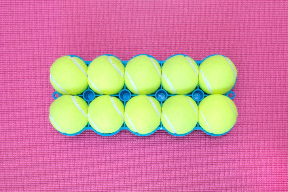 The Back King - Bottom Side 10 Tennis Balls