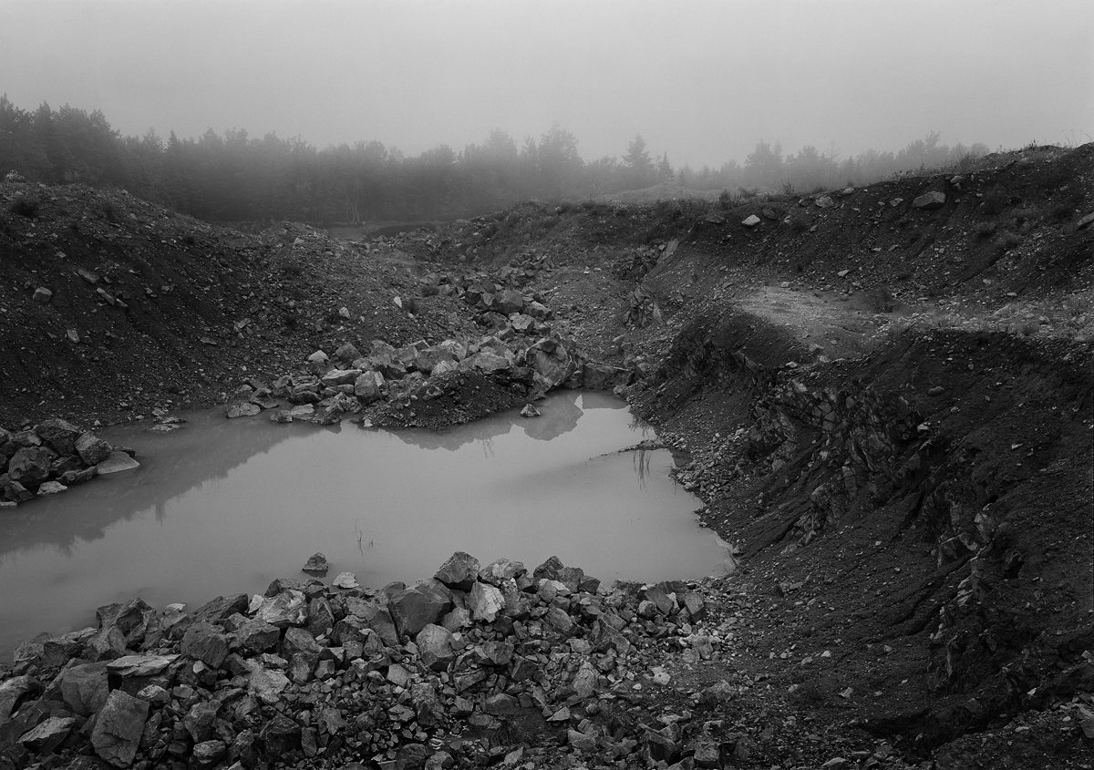 Quarry, Crooked Road, near Hulls Cove, Mount Desert Island, ME 2009