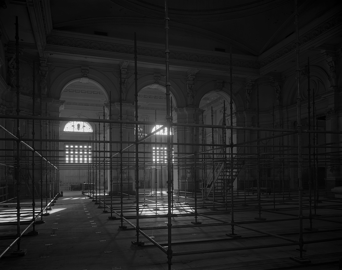 Grand Hall and Entry. Memorial Hall, Fairmount Park. January, 2007