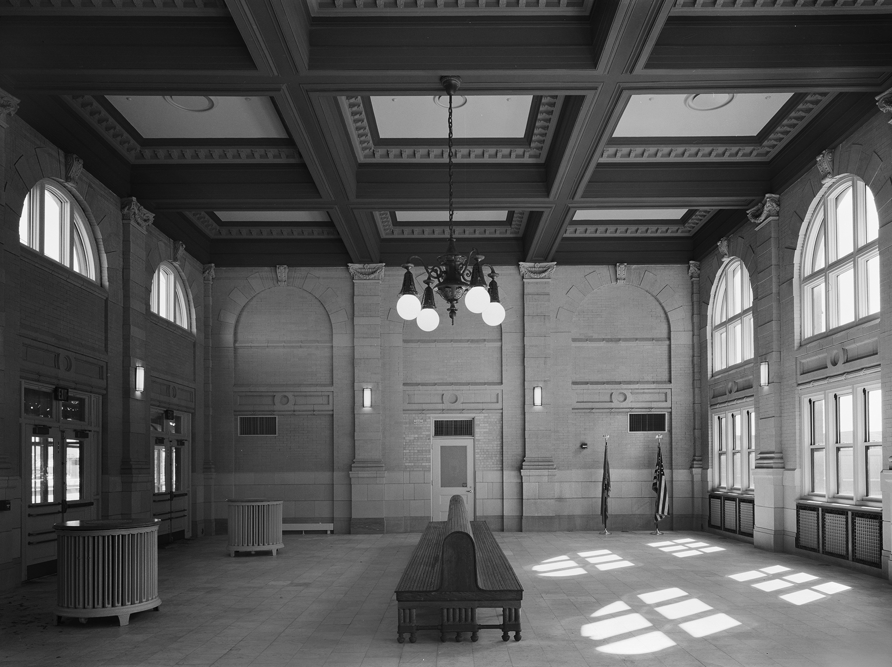Northbound Waiting Room, Pennsylvania Station, Wilmington, Delaware.