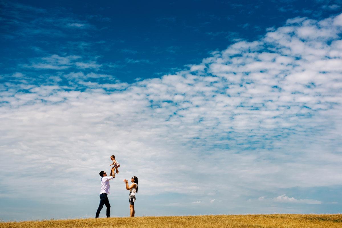 Family in Sydney Park