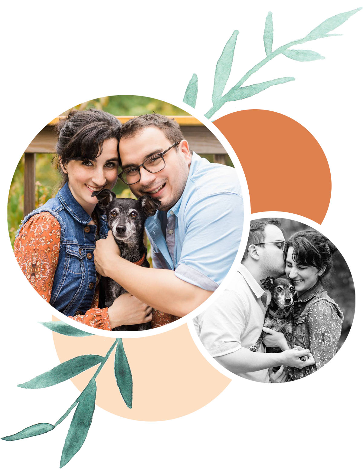 Photo of my fiancé and I by Ginia Worrell Photography