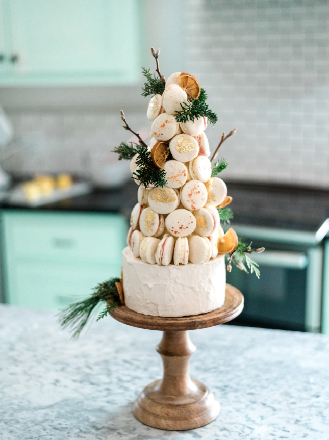 Make Your Own Macaron Tower The