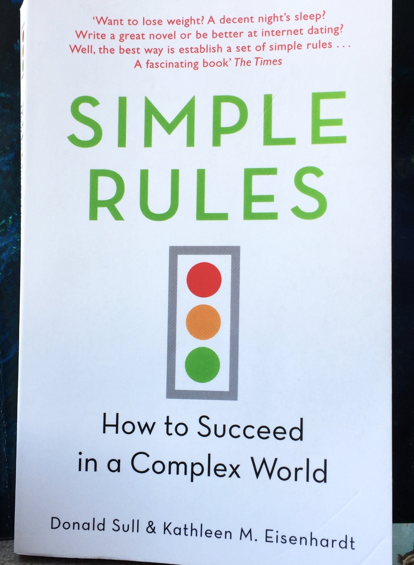 For the increasingly complicated world in which we live, Mick McKenna recommends this little gem of a book to get all of us on the right track!