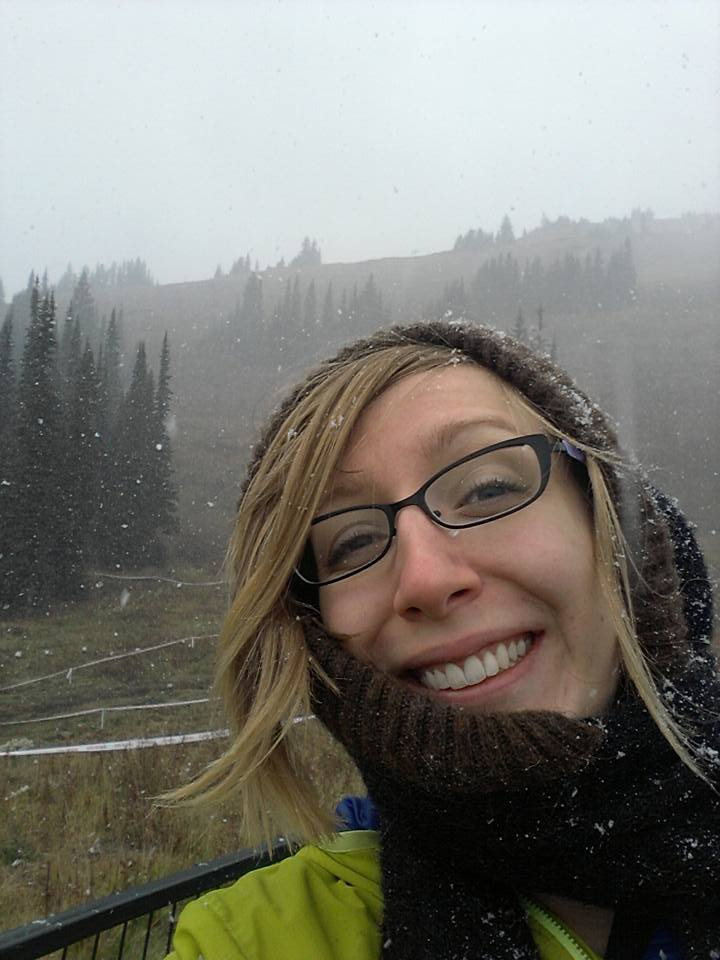 Yep, definitely snowing on Saturday!