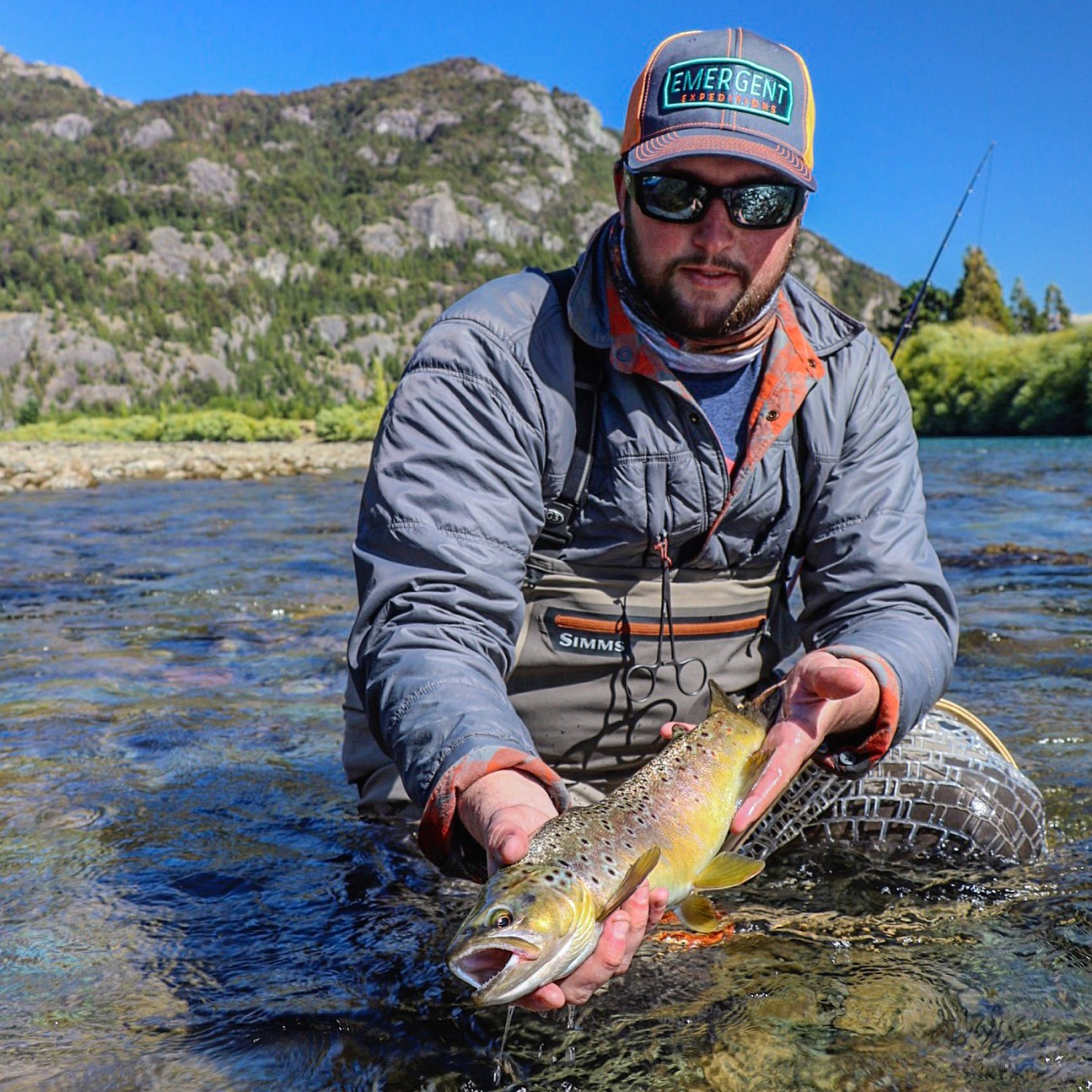 "The Rio Futaleufú supports a wide range healthy trout in different sizes, this is one of the supporting reasons I give these waters a ""Trophy Trout"" designation."