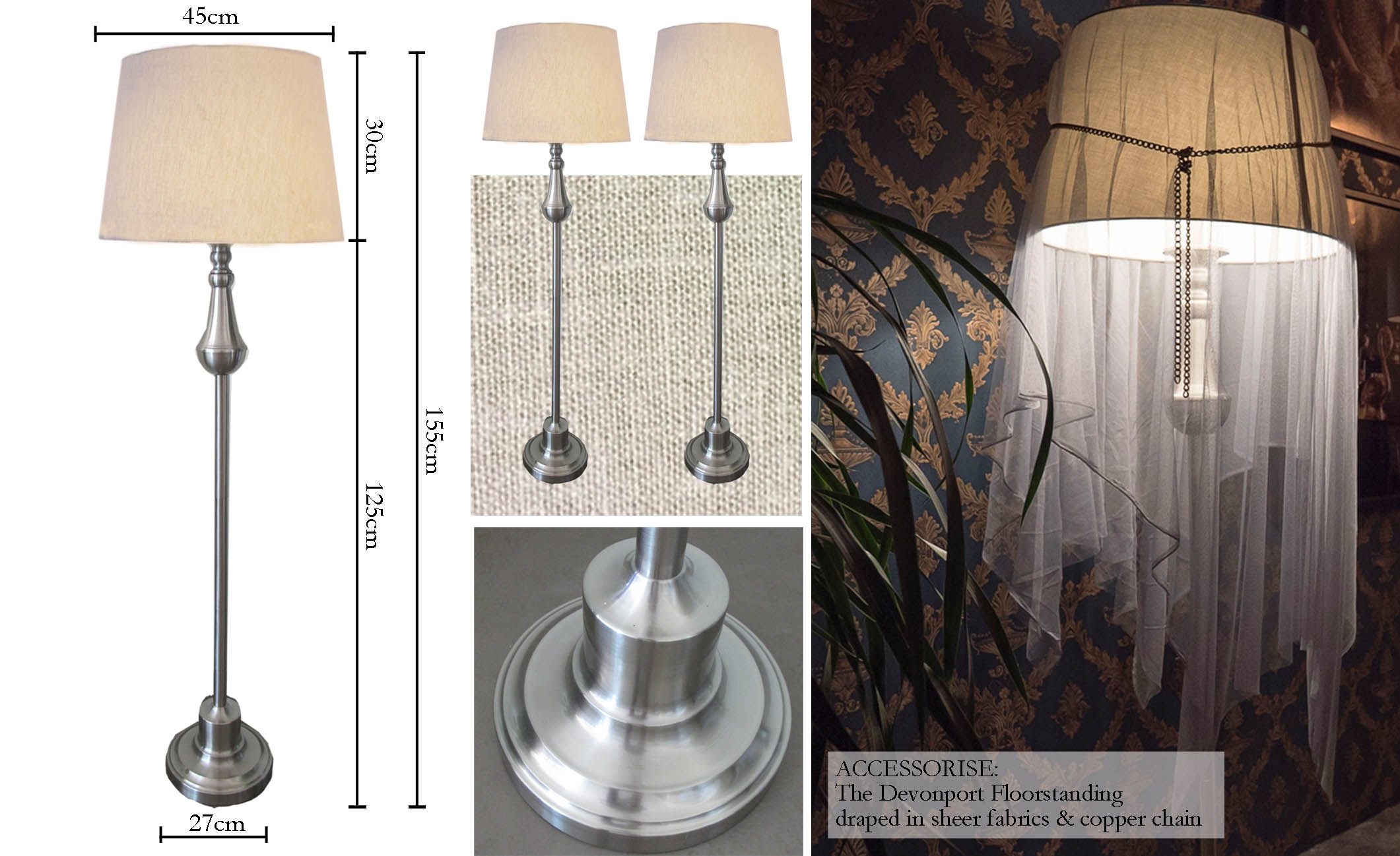 Devonport Floorstanding Lamp