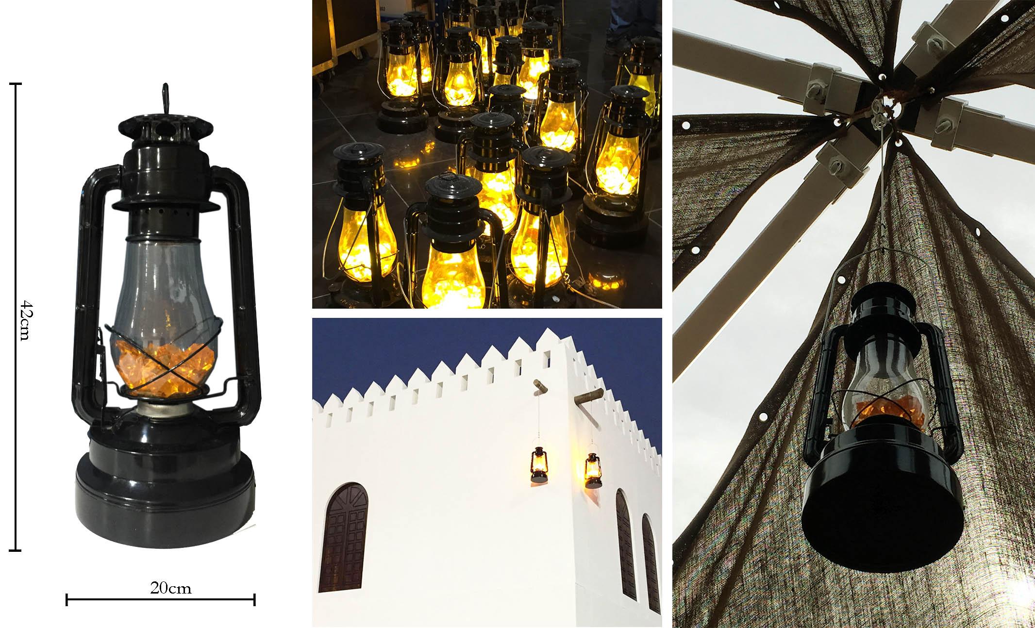 UAE Lanterns for Rent - Battery