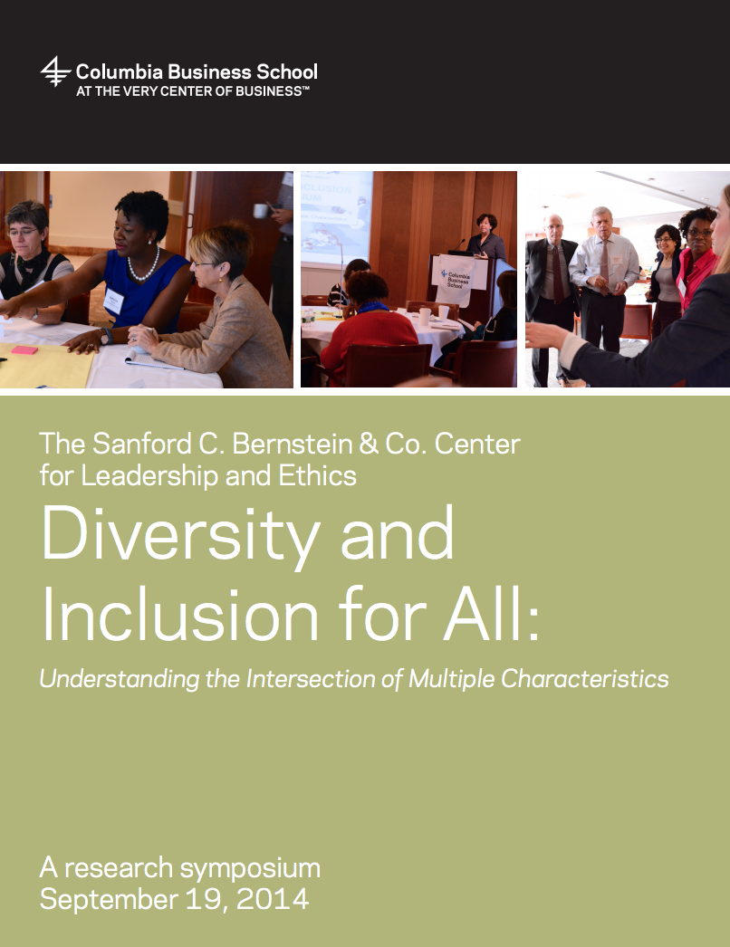 Diversity and Inclusion for All | Columbia Business School