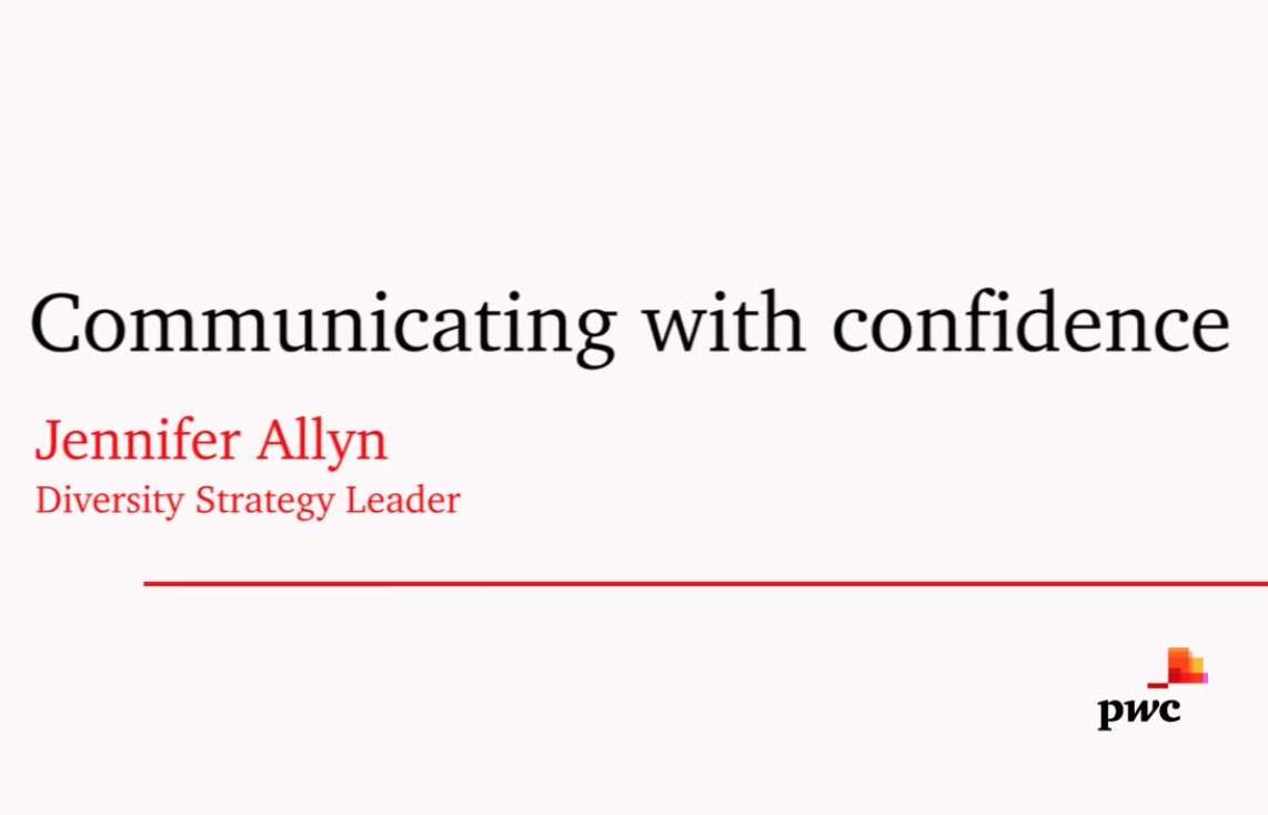 Communicating With Confidence | Lean In