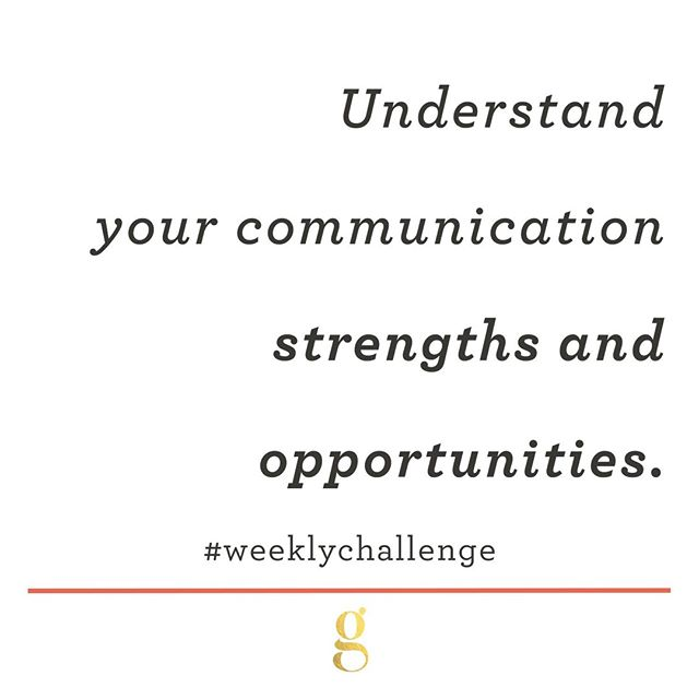 In July we are starting each Monday with a #WeeklyChallenge to manage up. In order to successfully lead your relationship with your manager, you first need to take an honest assessment of your communication style. What are your strengths, and what are your opportunities? How do you communicate best, and how are you best communicated with? Once you understand these things about yourself, you can begin to understand them in others (like your manager.)