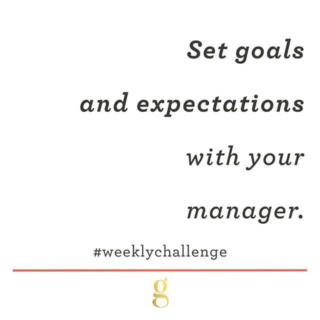 We are a little over halfway through 2019, which is a perfect time to set goals and expectations with your manager. For this managing up #WeeklyChallenge, we want you to schedule a check in with your manager to set goals and expectations for the rest of the year. You may learn that you are already on track in terms of expectations, or perhaps you have been way off. While we like to think our managers would let us know these things without our prompting, we also all know that's not the case for all managers.