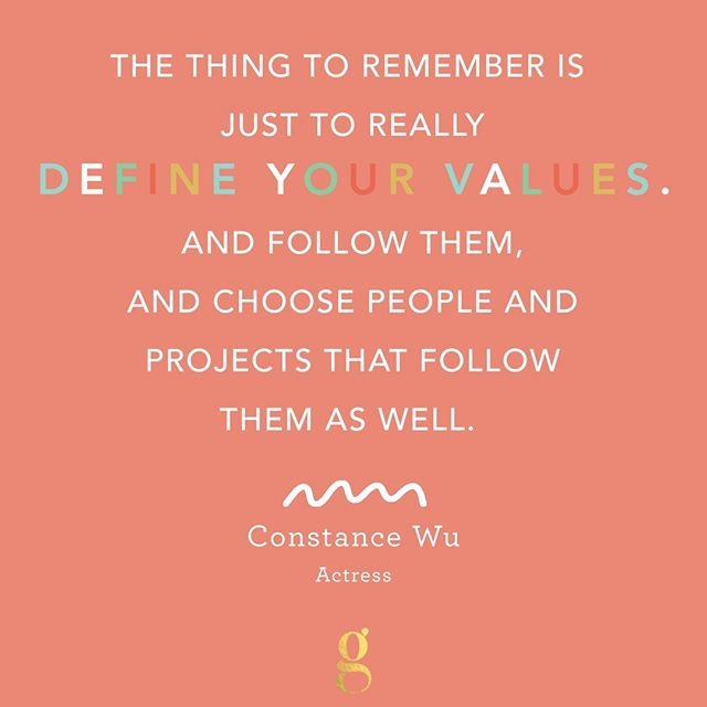 @constancewu is this week's #FearlessFemale. The Fresh Off The Boat and Crazy Rich Asians actress has never shied away from sharing her values, especially when it comes to representation (or the lack thereof) for Asians, women, and other minorities in Hollywood.