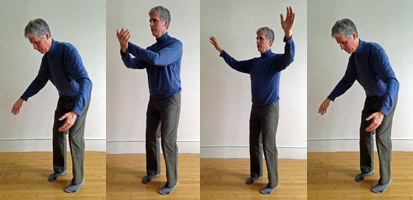 Gods Playing in the Clouds Qigong Move 2