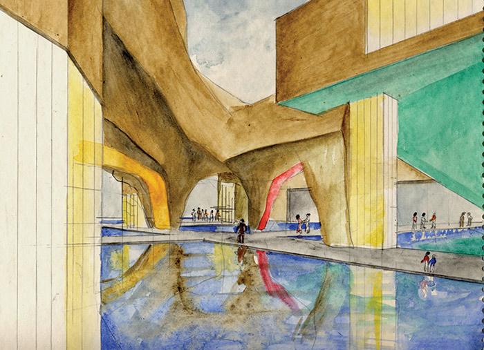 revista-diagonal-37-Premis-AJAC-Steven-Holl-Watercolors-07-Museum-Human-Evolution-Burgos-2000.jpg