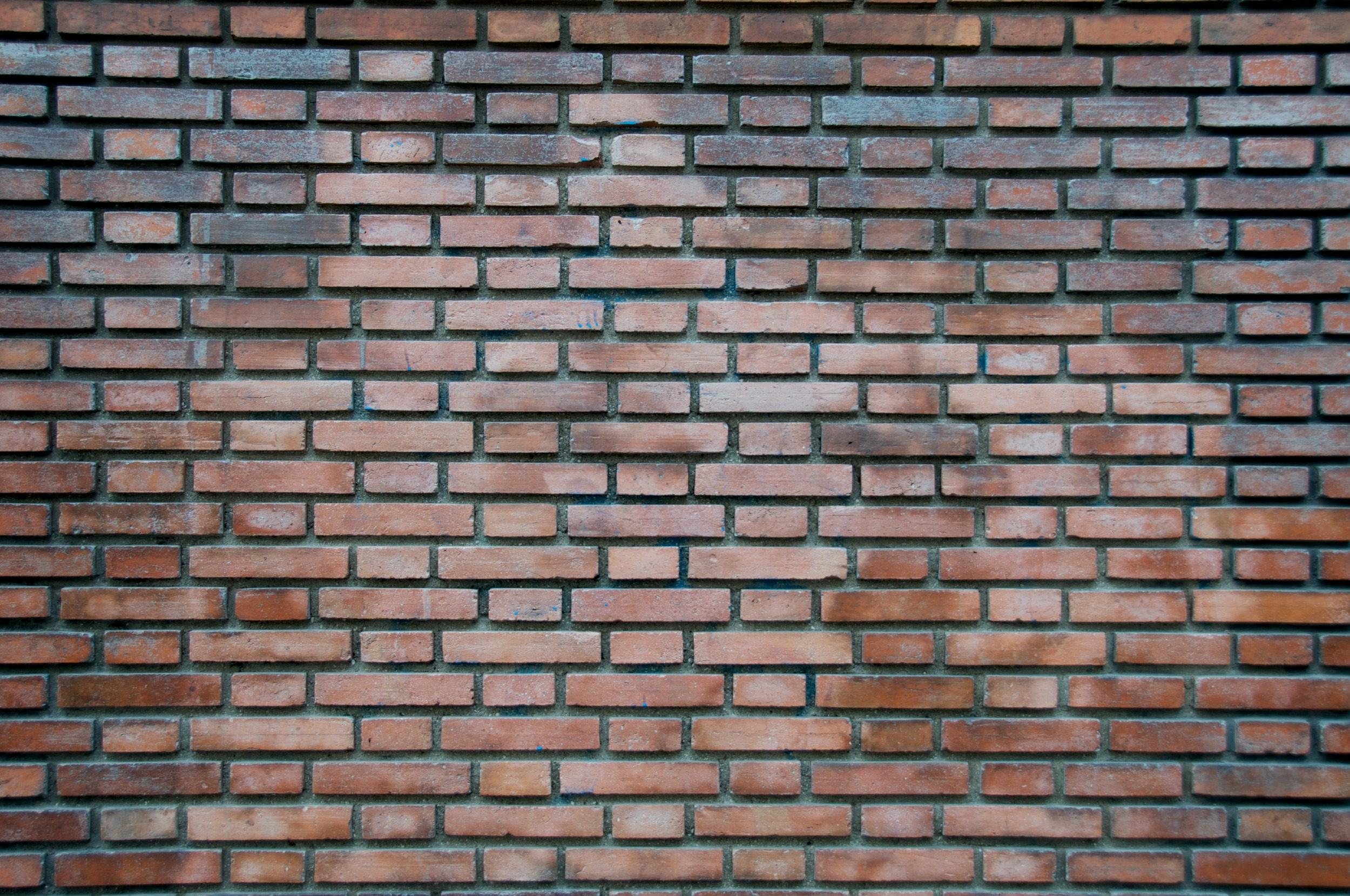 2010-0056-0566. Brick wall, Paris, France.