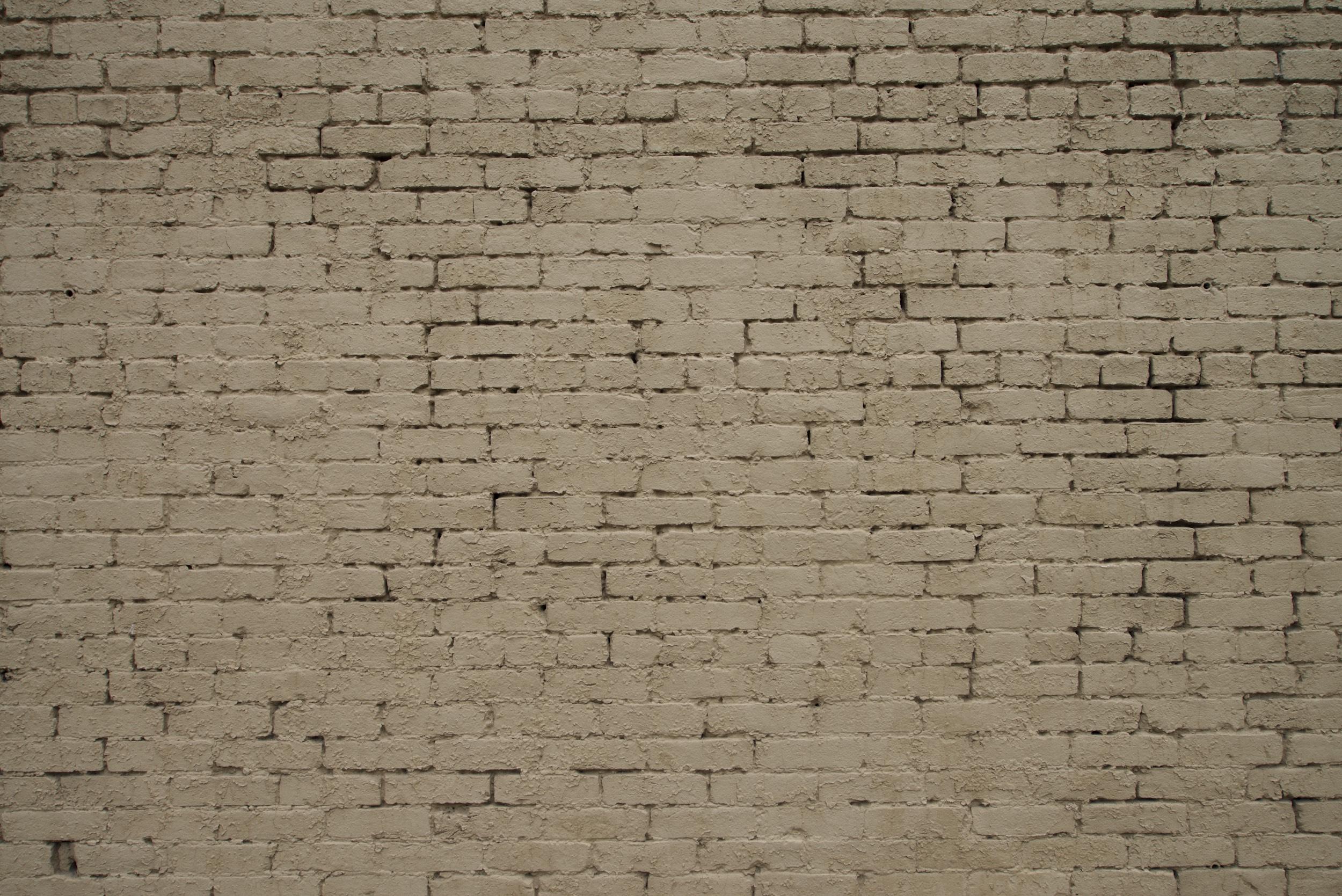 2014-0082-0013. Brick wall, Louisville, Kentucky.