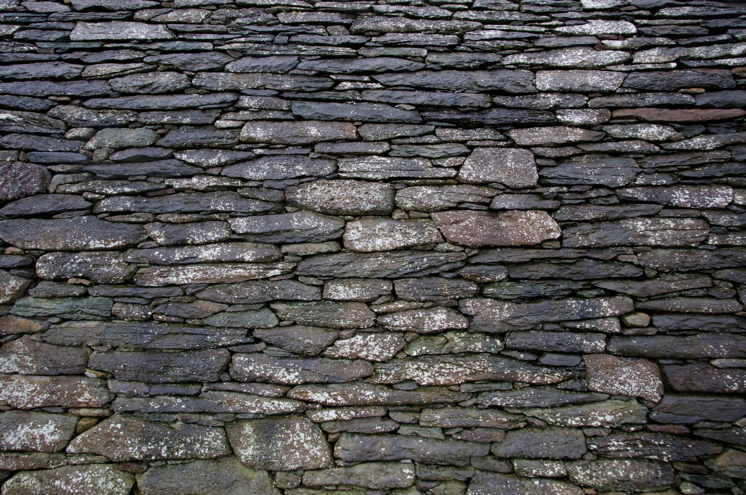 2011-0014-0469.Stone church wall, Dingle, Ireland.