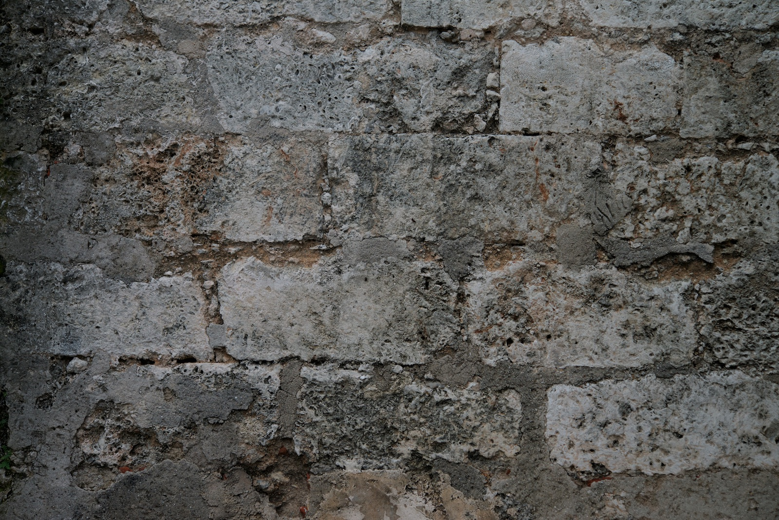 2016-0010-0131. Stone wall, La Habana, Cuba.