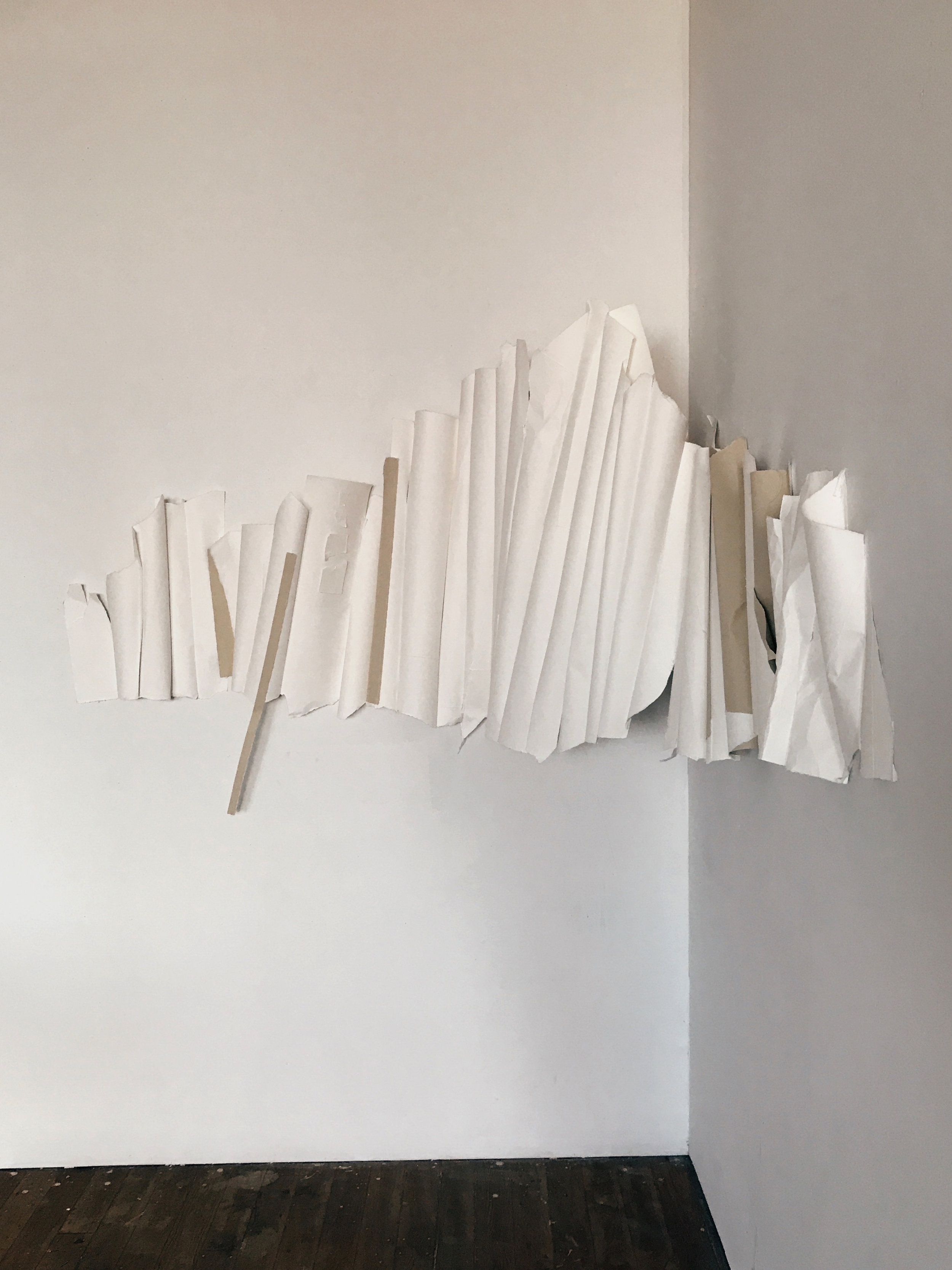 It's Better This Way (Alternate View)  Paper and thread  2018