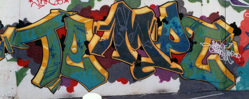 The software we create needs to let Tempt's master hand flow again. The picture above is one of his incredible pieces from Los Angeles the 1990's.