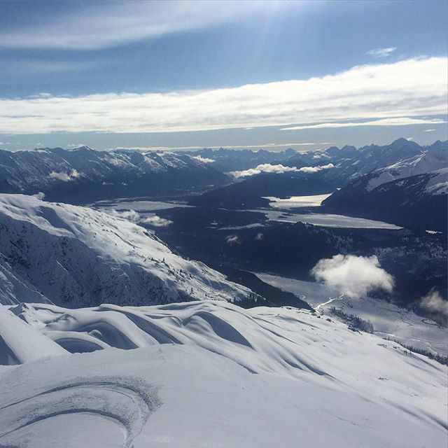 Alaska Heliskiing Day 7: rest day number 2 in a row. Dreaming of Thursday's #powder session